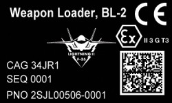 military uid label