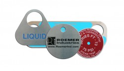 heat resistant valve tag
