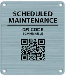 qr code nameplate
